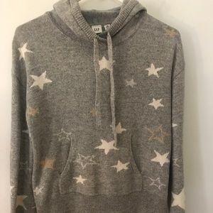 Gray hoodie from Gap